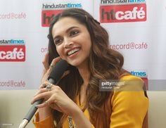 Bollywood actor Deepika Padukone during an interactive session at Hindustan Times office to promote her upcoming film Tamasha on November 19, 2015 in Mumbai, India.