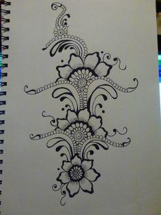 My favourite piece :) Black felt tip pen. Size A4