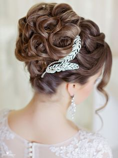 nice Потрясающие прически на свадьбу на средние волосы (50 фото) — Свежие идеи