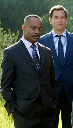 Happy birthday to both Michael Weatherly and Rocky Carroll...7/8