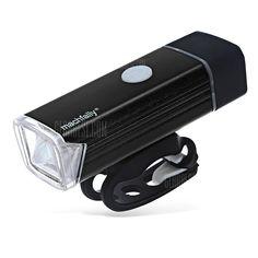 🏷️🐼 Machfally QD001 Waterproof USB Charging Bike Front Light-BLACK - 8.28€      #BonsPlans, #Deals, #Discount, #Gearbest, #Machfally, #Promotions, #Réduc