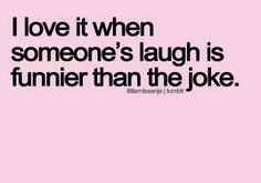 so true... i also love when people laugh with wild abandon. one of my fave people laughs BIG when he laughs. it is JOY.