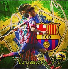 Illustration: Nymar, Jr - brilliant player, the colors of brilliancy. Paris Saint Germain Fc, Football Tops, National Football Teams, Neymar Jr, Soccer Players, Fc Barcelona, Sports And Politics, Fifa, Brazil