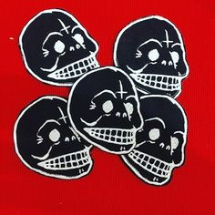 Cheap Skull #patch #skull #embroidered #embroidery