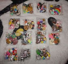 Kawaii Polymer Clay Charms 13 Grab Bag  EXTRAS 130 by Mshoppee
