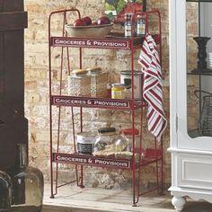 grocery & provision shelf | www.countrydoor.com