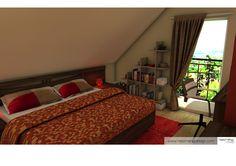 bedroom 3D visualization 3d Visualization, My Works, Bedroom, Furniture, Home Decor, Decoration Home, Room Decor, Bedrooms, Home Furnishings