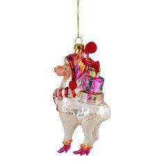 Christmas Alpaca Glass Christmas Tree Bauble Decorations The Christmas Boutique Christmas Tree Baubles, Create, Holiday Decor, Stuff To Buy, Decorations, Boutique, Design, Home Decor, Homemade Home Decor