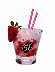 Batida Strawberry - in der Erdbeersaison besonders beliebt