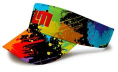 Golfing Visor by Loudmouth Golf - Paint Balls Fancy.  Buy it @ ReadyGolf.com