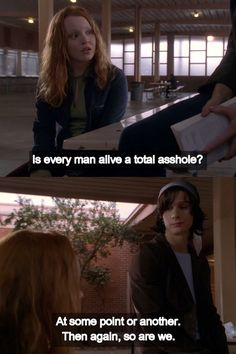 Tv Show Quotes, Movie Quotes, Six Feet Under, Women's Rights, Man Alive, Manga, Bullshit, Feminism, Funny Things
