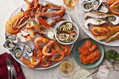 I want this! This magnificent cold seafood platter recipe is brought to you by taste.com.au