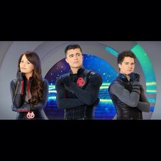 Adam Chase and Bree from Lab rats