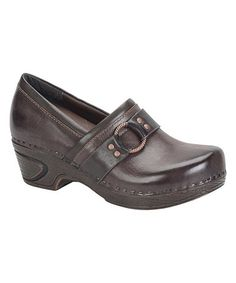 Another great find on #zulily! Java Berit Leather Clog #zulilyfinds