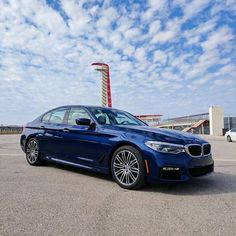 The all-new BMW 5 series at the Circuit of the Americas. Visit Circle BMW to learn more about this incredible Ultimate Driving Machine. #bmw5series #bmw #backtothetrack #circlebmw