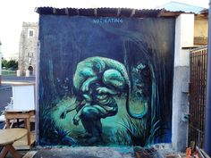 JAZ New Mural In Cape Town, South Africa