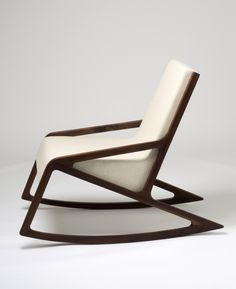 Charles Rohlfs, Decorative Oak Rocker What I love about this rocker is that it…