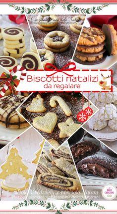 Biscotti natalizi da regalare. Le 20 migliori #ricette, facili e golose, alla portata di tutti anche di chi non è molto pratico nello sfornare #dolci, sono tutte ricette veloci che richiedono poco tempo. #biscotti #dessert #regali #festa #natale #christmas #xmax #recipe #cookies #ricettefacili #ricetteeconomiche #natale #nataleatavola #nataledafare  #bicottidaregalare Xmax, Merry Xmas, Macarons, Christmas Cookies, Christmas Time, My Favorite Things, Breakfast, Health, Desserts