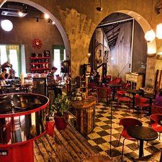 Café Cuatro Sombras - Old San Juan, Puerto Rico, Puerto Rico