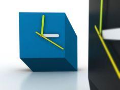 U0027cubert Desk Clocku0027 By Mexican Designer Luis Luna