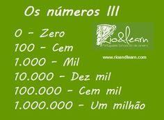 Os números III
