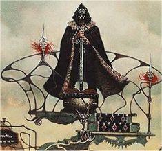 Arawn - Celtic (Welsh) God of the Underworld, Terror, Revenge, and War.