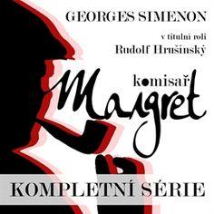 Audiokniha Komisař Maigret - kompletní série  - autor Georges Simenon   - interpret více herců Audio Books, Calm, Author