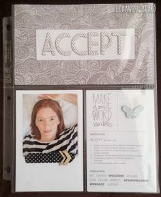 Accept is a fantastic option. #wordoftheyear #oneword