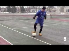Fast Footwork Training - 6 Minute Soccer Routine For Fast Footwork Training