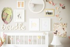 Love this wall.  Laura Winslow Photography has GREAT ideas, check out her wall art wednesdays!