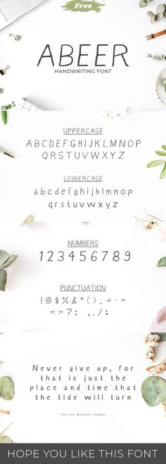 20 Best Free Handwriting Fonts For Designers 2018