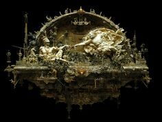 The Recreation [Kris Kuksi] - Creation Of Adam - Michelangelo