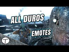 All Duros in-game emotes || Todos los gestos del Duros || Star Wars Batt...