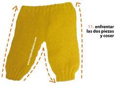 Pantalón para bebe - Tejiendo Perú Packing List For Vacation, Baby Pants, Gym Men, Crocs, Cheer Skirts, Sweatpants, Knitting, Fashion, Knitted Baby