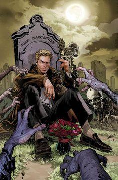 John Constantine na primeira ilustração de Renato Guedes que assume Hellblazer ao lado de Robert Venditti