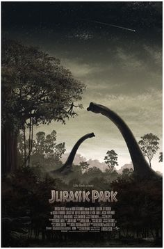 Jurassic Park (by JC Richard). I was able to get my hands on one of these - it's beautiful!