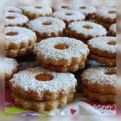 Isler / Linzer | Betty hobbi konyhája Cake Cookies, Macarons, Doughnut, Muffin, Breakfast, Recipes, Food, Cakes, Morning Coffee