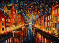 "Oil painting ""NIGHT COPENHAGEN"" by @afremov  Click on the link in my profile to find & buy this painting  #art #drawing #artwork #graffiti #paint #pencil #pen #sketch #streetart #doodle #worldofpencils #nawden #arts_help #artfido #artofdrawingg #arts_gallery #art_sanity #worldofartists #art_spotlight #artcollective #artist_4_shoutout #artsy #artist #arte #arts #artoftheday #artistic by afremov"