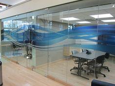 8 Office Furniture Design, Office Interior Design, Office Interiors, Office Graphics, Window Graphics, Glass Film Design, Glass Sticker Design, Waiting Room Design, Frosted Window Film