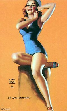 History of Art: Pin-up Art - Earl Moran