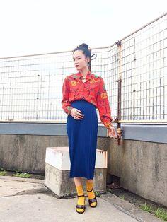 鮮やかにキメめた日。 blouse/¥2,200