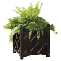Solid Wood Chippendale Planter Box Item# DMC004  Our Price: $56.99