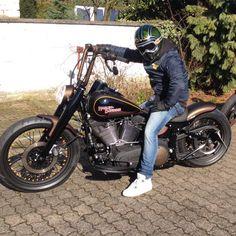 Oldschool Harley Bell Moto 3