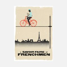 Frenchmen Print by Woop Studios