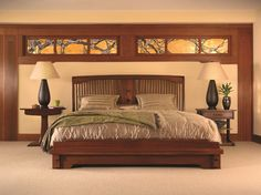 Stickley Mission Collection Craftsman Bedroom