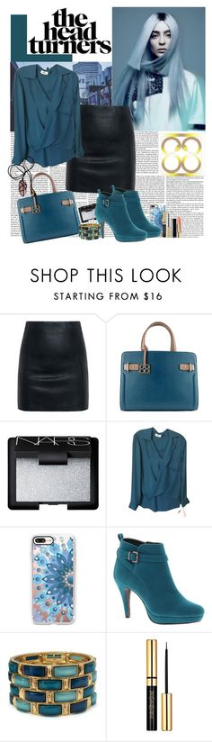 """""""The Bag"""" by polybaby ❤ liked on Polyvore featuring McQ by Alexander McQueen, NARS Cosmetics, L'Agence, Casetify and Beacon"""