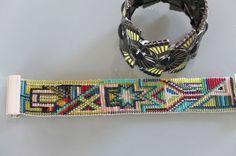perles tissées : bracelet