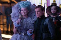Effie and Peeta in Catching Fire #CatchingFire #HungerGames