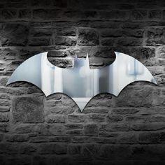 Batman 16 colors backlit mirror light LED
