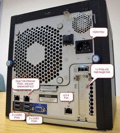 HP ProLiant MicroServer Gen8 Matrox Graphics Last